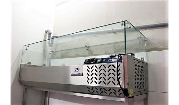 rvs saladbar, DIAMOND, type Compact Line