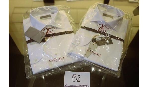 2 hemden CANALI maat 41