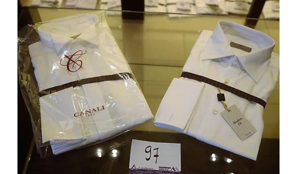 2 hemden CANALI MAAT 40