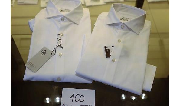 2 hemden GHIRARDELLI maat 40,42