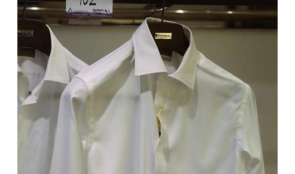 2 hemden CANALI MAAT 40,41