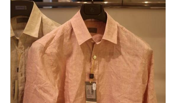 2 hemden CANALI MAAT Medium
