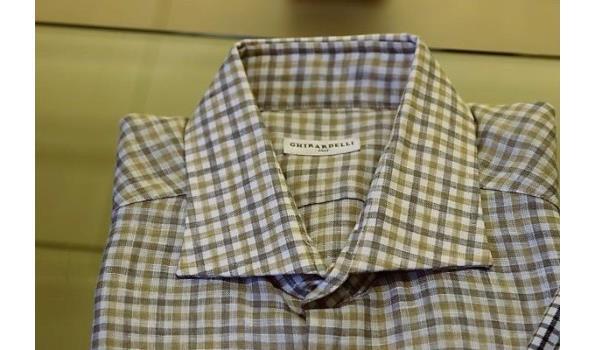 2 hemden GHIRARDELLI maten 41,42
