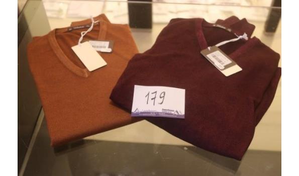 2 truien VIADESTE maat 54