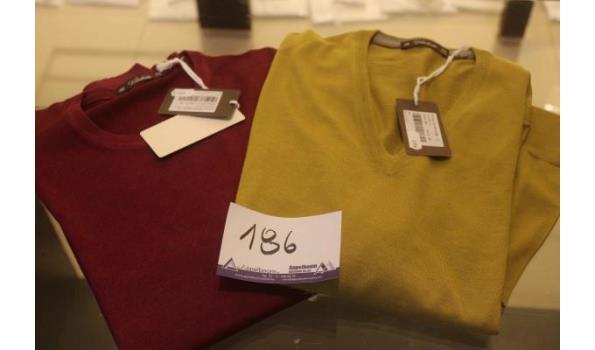 2 truien VIADESTE maat 56