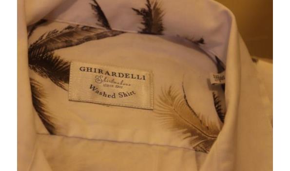 2 hemden GHIRARDELLI m 39,40