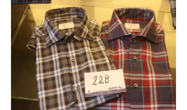 2 hemden GHIRARDELLI m 41