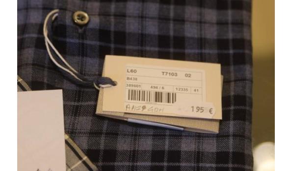 2 hemden GHIRARDELLI m 41,42