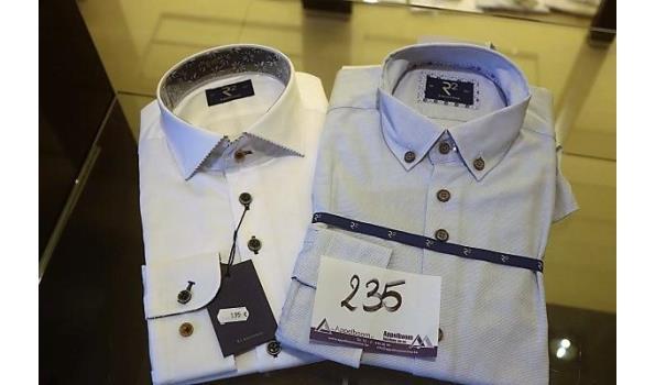 2 hemden R2 maat 39, 40