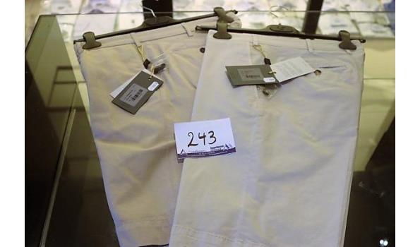 2 shorts CANALI 48,50