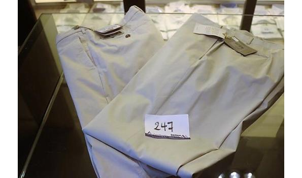 2 broeken w.o. CANALI 54