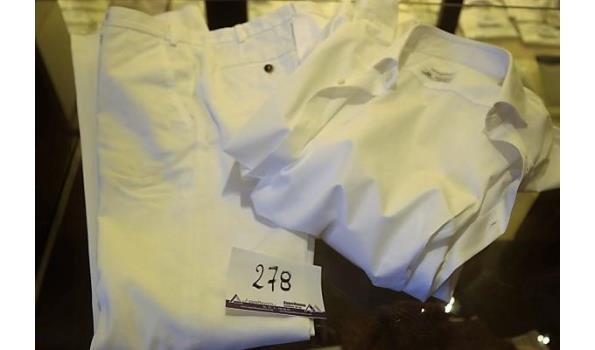broek 48 en hemd 41