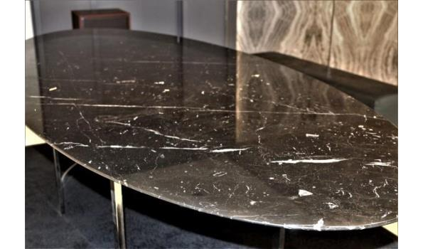 lage design tafel vv marmeren blad (op 1ste verdieping)